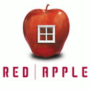 логотип Red apple